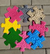 Ortopedická podlaha MUFFIK puzzle MINI
