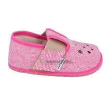 Barefoot Pegres barefoot papuče BF03 růžové bosá