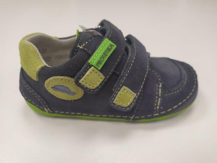 Barefoot Protetika fergus grey- celoroční botky bosá