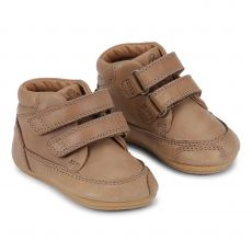 Barefoot boty Bundgaard Prewalker II Velcro Caramel WS