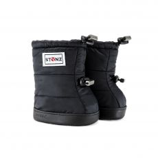 Barefoot boty Stonz Puffer Booties - Black