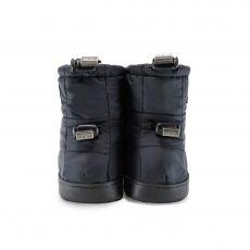 Barefoot Barefoot boty Stonz Puffer Booties - Black bosá