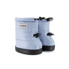 Barefoot boty Stonz Puffer Booties - Haze blue