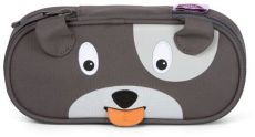 Barefoot Dětský penál Affenzahn Pencil Case Dog David - grey bosá