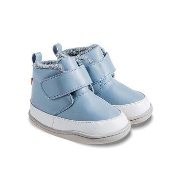 Barefoot Zimní barefoot botičky Little Blue Lamb Big blue bosá