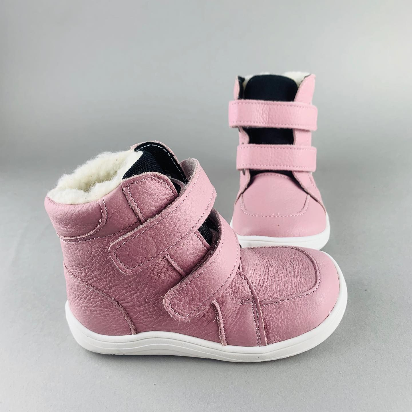 Barefoot BABY BARE WINTER Candy BABY BARE SHOES bosá
