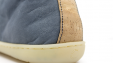 Barefoot Barefoot boty MUKISHOES High-cut RAW LAETHER Blue FW bosá