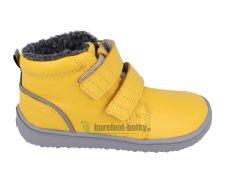 Detské zimné barefoot topánky Be Lenka Penguin - Yellow | 30