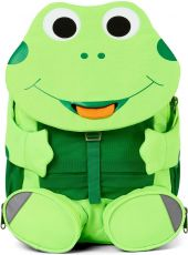 Detský batoh do škôlky Affenzahn Large Friend Frog - neon green