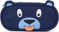 Dětský penál Affenzahn Pencil Case Bobo Bear - petrol