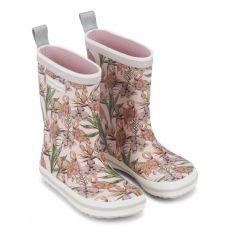 Barefoot Holínky Bundgaard Classic Rubber Boot Rose Flamingo bosá