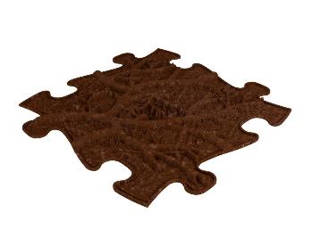 Barefoot Ortopedická podlaha MUFFIK EKO kořeny bosá