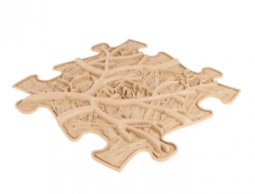Podlaha MUFFIK puzzle kořeny tvrdé