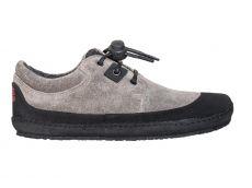 Zateplené barefoot boty Sole runner Pan grey/black