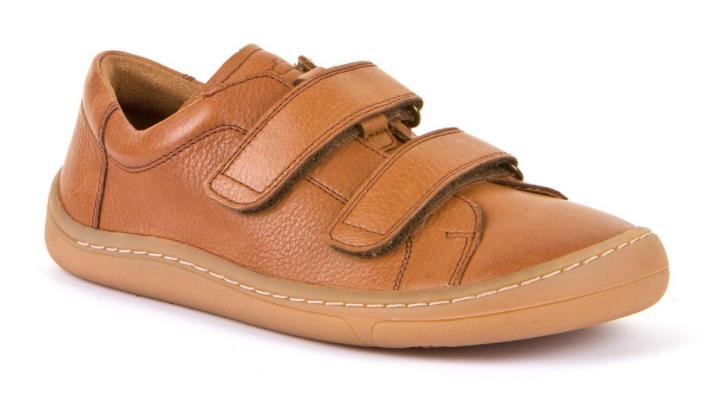 Barefoot Froddo barefoot celoroční boty brown - 2 suché zipy bosá