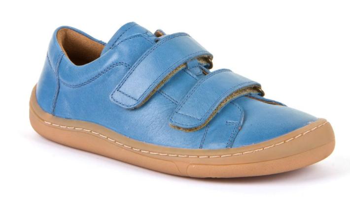 Barefoot Froddo barefoot celoroční boty jeans - 2 suché zipy bosá