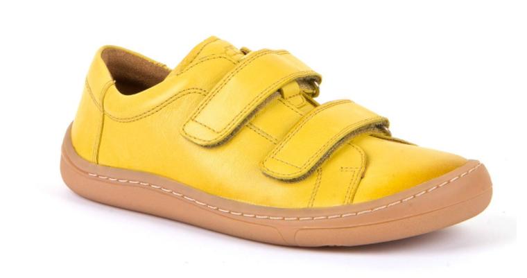 Barefoot Froddo barefoot celoroční boty yellow - suché zipy bosá
