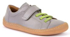Froddo celoročné barefoot topánky light grey - 1 suchý zips | 23, 25, 27, 33, 34, 40