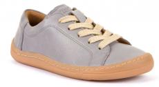 Froddo celoročné barefoot topánky light grey - šnúrky | 37