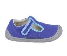 Protetika Kirby blue - textilní tenisky/přezůvky