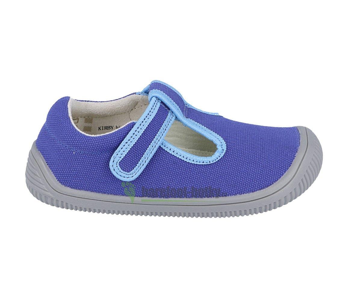 Barefoot Protetika Kirby blue - textilní tenisky/přezůvky bosá