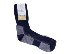 Surtex ponožky froté - 95 % merino modré
