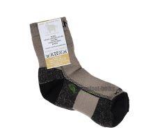 Surtex ponožky froté - 95 % merino světle hnědé