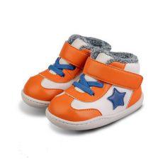 Zimné topánočky Little Blue Lamb Beck orange | 21, 22