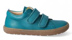 Barefoot tenisky KOEL4kids - Bernardo nappa turquoise