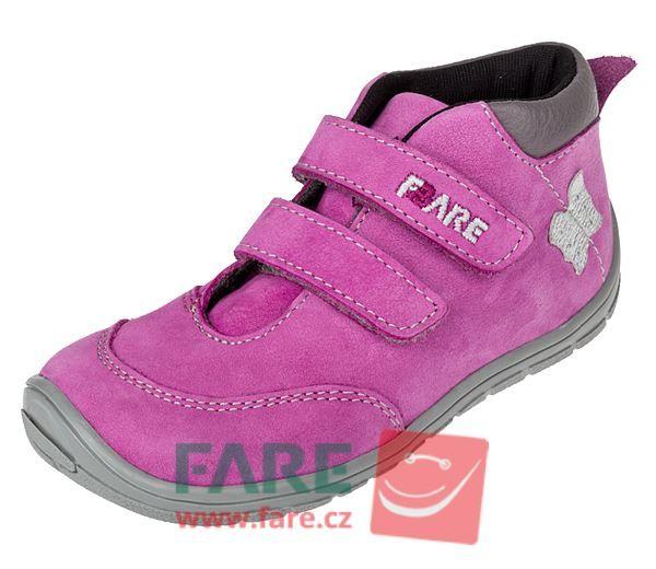 Barefoot FARE BARE DĚTSKÉ CELOROČNÍ BAREFOOT BOTY B5421252 bosá