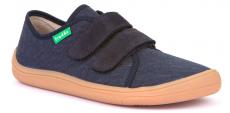 Barefoot Froddo barefoot tenisky dark blue - světlá podrážka bosá