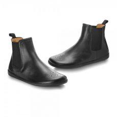 Kožené boty ZAQQ EQUITY BROGUE Black