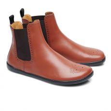 Kožené boty ZAQQ EQUITY BROGUE Cognac