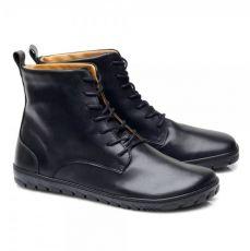 Kožené boty ZAQQ QUINTIC Black