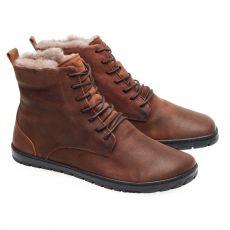 Zimní boty ZAQQ QUINTIC Winter Velours Brown