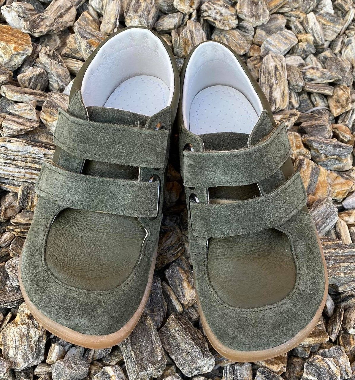 Barefoot Baby bare shoes Febo Youth Army bosá
