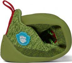 Barefoot Dětské barefoot boty Affenzahn Lowcut Knit Dragon-Green bosá