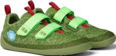 Dětské barefoot boty Affenzahn Lowcut Knit Dragon-Green