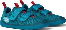 Dětské barefoot boty Affenzahn Lowcut Knit Shark-Blue