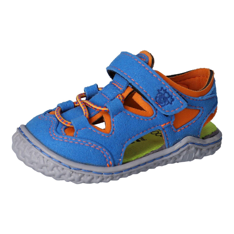 Barefoot Barefoot sandálky RICOSTA Kenny azur/papaya bosá