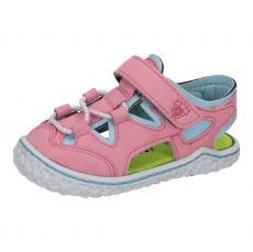 Barefoot sandálky RICOSTA Kenny rosato / turquise | 20, 21, 22, 23, 24, 26