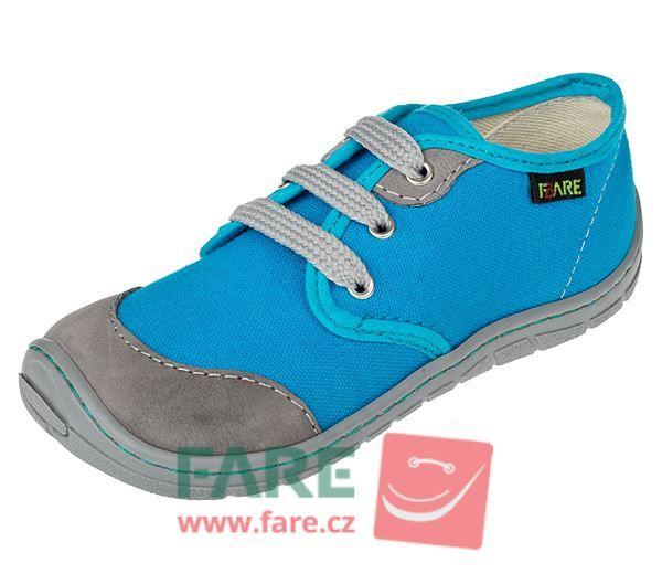 Barefoot FARE BARE DĚTSKÉ TENISKY B5411401 bosá