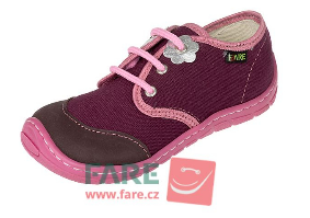 Barefoot FARE BARE DĚTSKÉ TENISKY B5411491 bosá