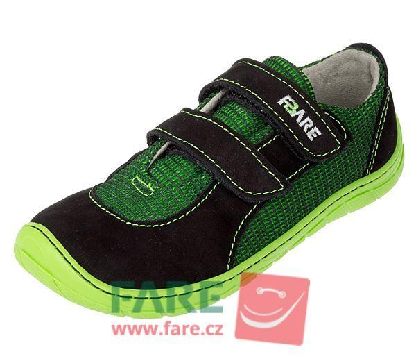 Barefoot FARE BARE DĚTSKÉ TENISKY B5515231 bosá