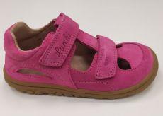 Lurchi sandálky - NANDO suede Fuxia