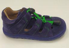 Lurchi sandálky - NATHAN suede Azul
