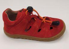 Lurchi sandálky - NATHAN suede Fuego
