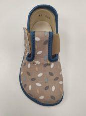 Barefoot Pegres barefoot papuče BF01 modré bosá