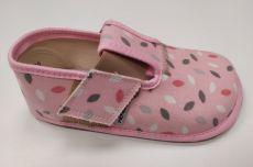 Pegres barefoot papuče BF01 růžové
