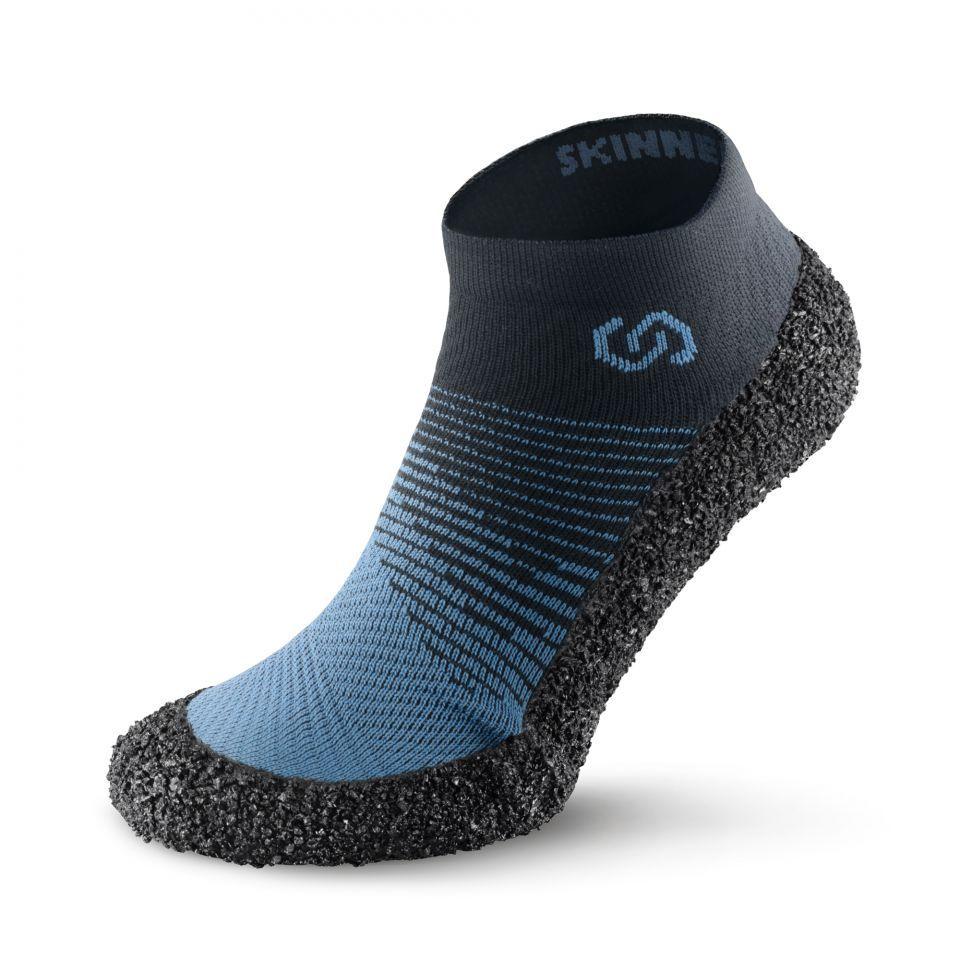 Barefoot Ponožkoboty SKINNERS 2.0 Marine bosá